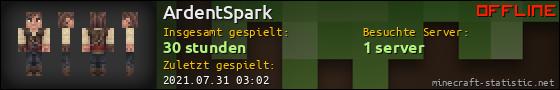 Benutzerleisten 560x90 für ArdentSpark