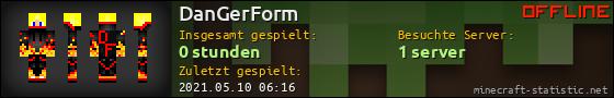 Benutzerleisten 560x90 für DanGerForm