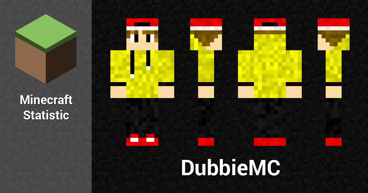 Dubbiemc Minecraft Player Minecraft Statistics