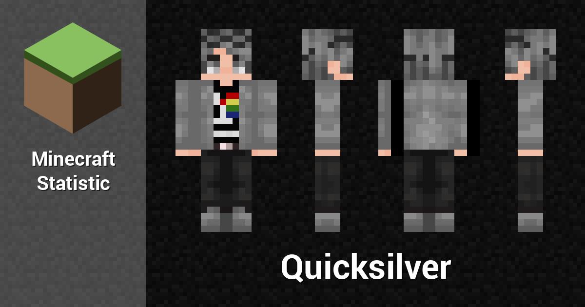 Quicksilver Minecraft Player Minecraft Statistics - Skins para minecraft pe quiksilver