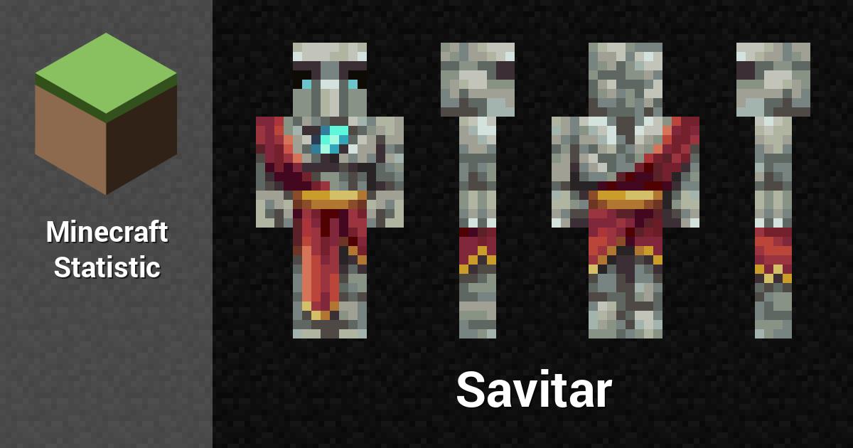Savitar Minecraft Player Minecraft Statistics
