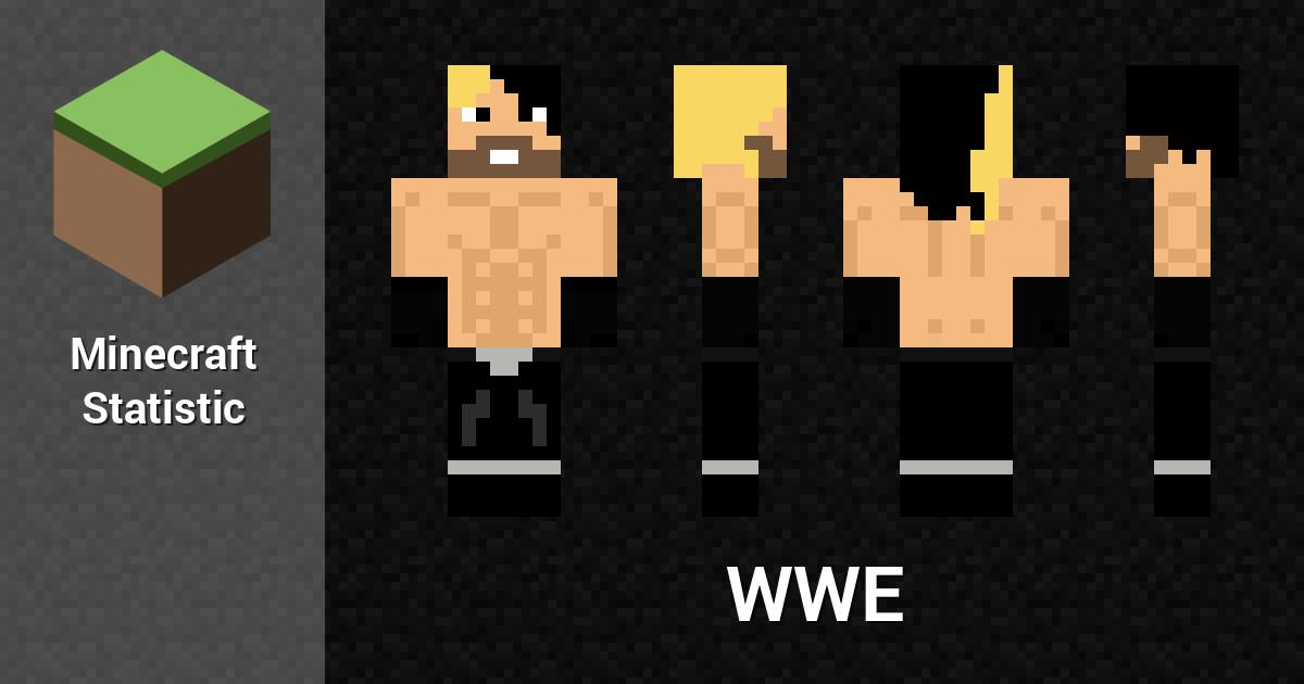 WWE Minecraft Player Minecraft Statistics - Skin para minecraft pe wwe