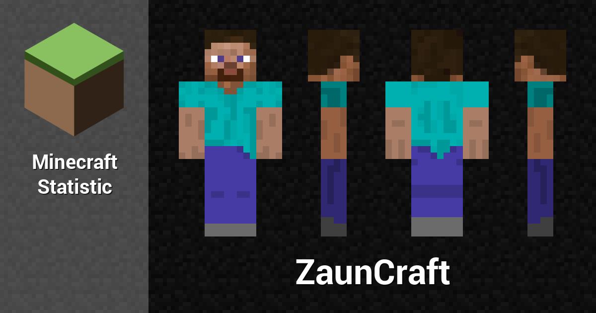 Zauncraft Minecraft Player Minecraft Statistics