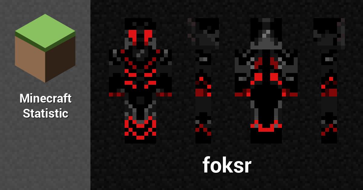 Foksr Minecraft Player Minecraft Statistics