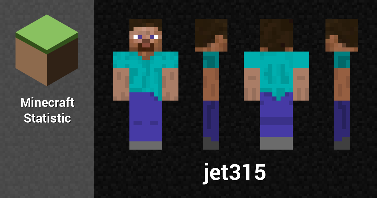 jet315 — Minecraft Player - Minecraft Statistics