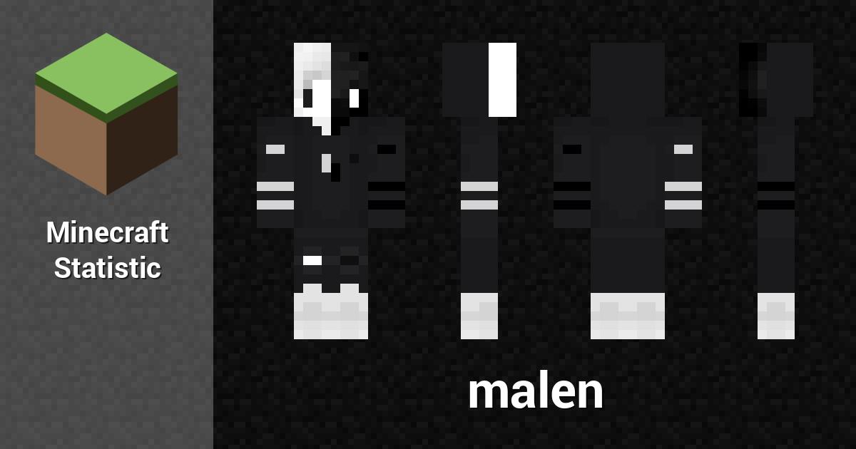 Malen Minecraft Player Minecraft Statistics