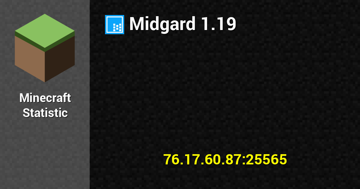 Midgard 1 13 2 Give me that Trident! - 76 17 60 87:25565 Minecraft