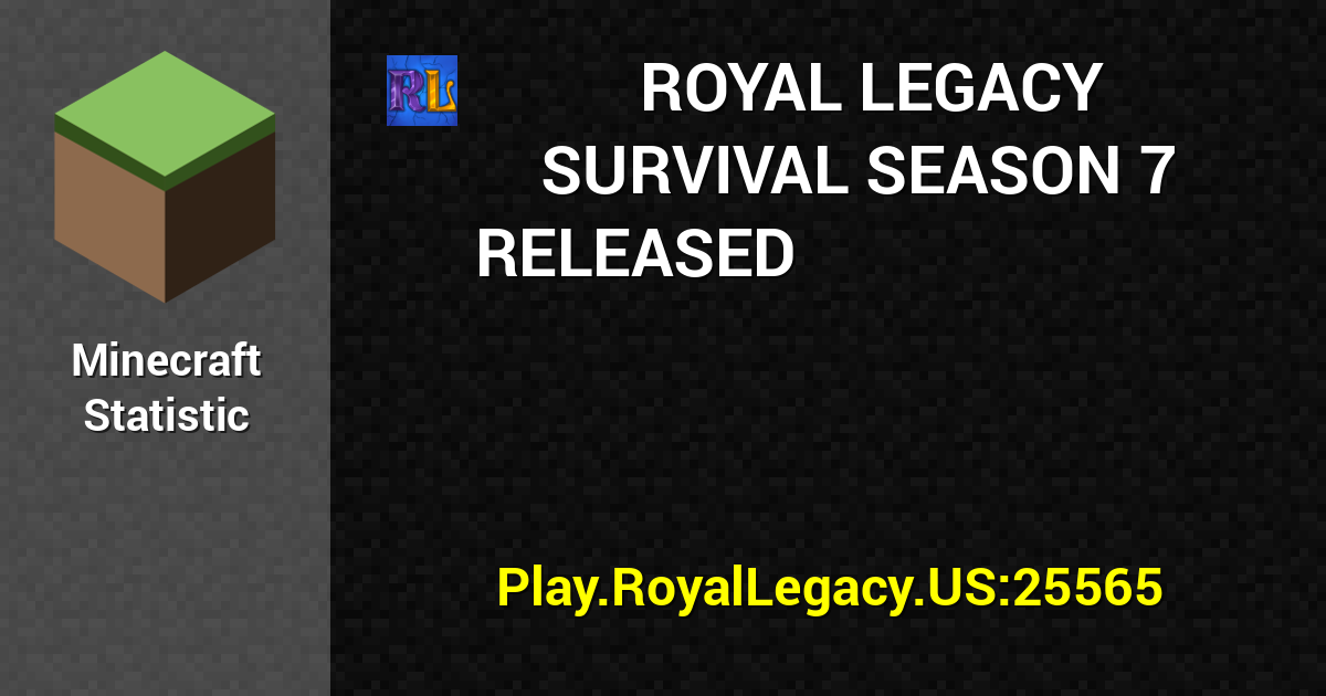 Royal Legacy Network Summer Updates Very Soon!!