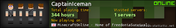 CaptainIceman userbar 560x90