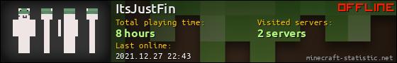 ItsJustFin userbar 560x90