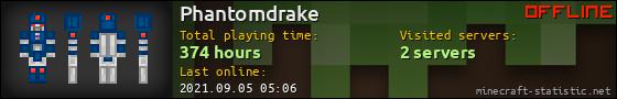 Phantomdrake userbar 560x90