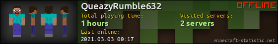 QueazyRumble632 userbar 560x90
