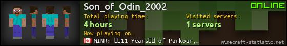 Son_of_Odin_2002 userbar 560x90