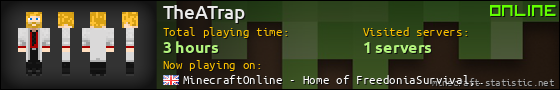 TheATrap userbar 560x90
