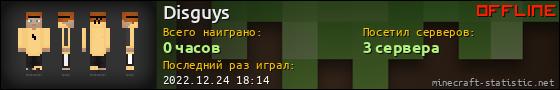 Юзербар 560x90 для Disguys