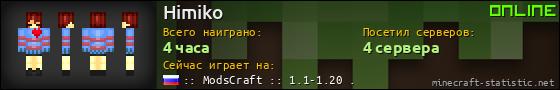 Юзербар 560x90 для Himiko