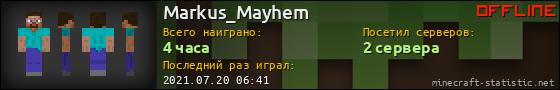 Юзербар 560x90 для Markus_Mayhem