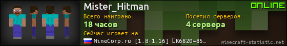 https://minecraft-statistic.net/ru/userbars/560x90/player/Mister_Hitman.png
