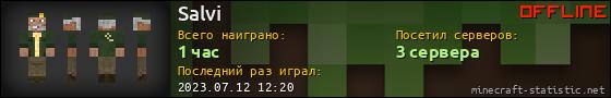Юзербар 560x90 для Salvi