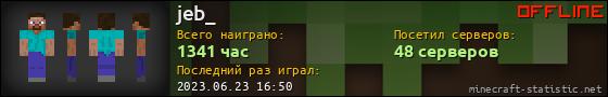 Юзербар 560x90 для jeb_
