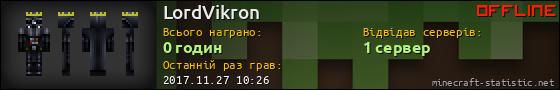 Юзербар 560x90 для LordVikron