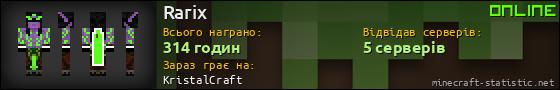 Юзербар 560x90 для Rarix