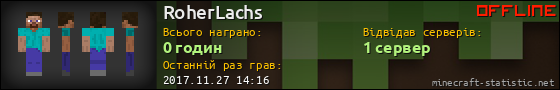 Юзербар 560x90 для RoherLachs