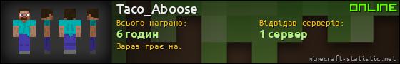 Юзербар 560x90 для Taco_Aboose