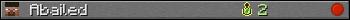 Юзербар 350x20 для Abailed