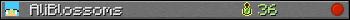 AliBlossoms userbar 350x20