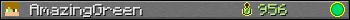 Benutzerleisten 350x20 für AmazingGreen