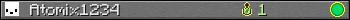 Юзербар 350x20 для Atomix1234