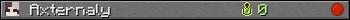 Axternaly userbar 350x20