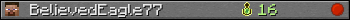 BelievedEagle77 userbar 350x20