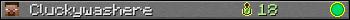Cluckywashere userbar 350x20