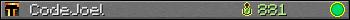 CodeJoel userbar 350x20