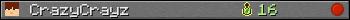 Юзербар 350x20 для CrazyCrayz
