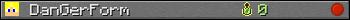 Benutzerleisten 350x20 für DanGerForm
