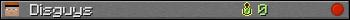 Юзербар 350x20 для Disguys