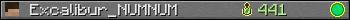 Excalibur_NUMNUM userbar 350x20