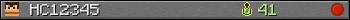 HC12345 userbar 350x20