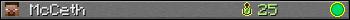McCeth userbar 350x20