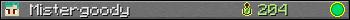 Юзербар 350x20 для гравця Mistergoody
