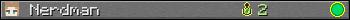 Nerdman userbar 350x20