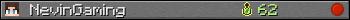 Юзербар 350x20 для NevinGaming