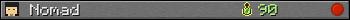 Юзербар 350x20 для Nomad