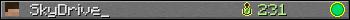 Юзербар 350x20 для SkyDrive_