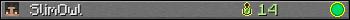 Benutzerleisten 350x20 für SlimOwl