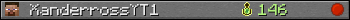 XanderrossYT1 userbar 350x20