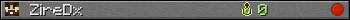 ZireDx userbar 350x20